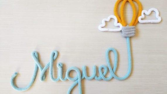 letras em tricotin