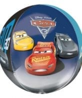 Balão Foil Orbz Cars 3