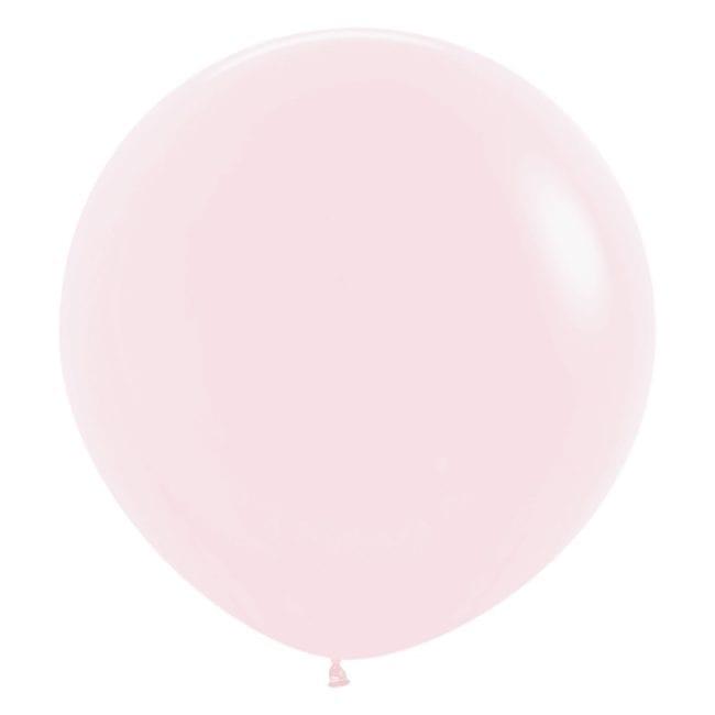 Balões Latex 24'' Pastel Matte Solid Pink 609