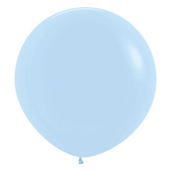 Balões Latex 24'' Pastel Matte Solid Blue 640
