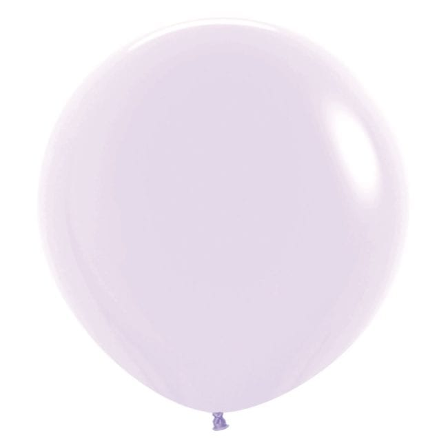 Balões Latex 24'' Pastel Matte Solid Lilac 650