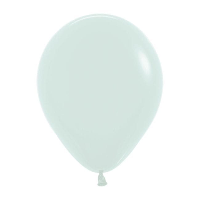 Balões Latex 5'' Pastel Matte Solid Green 630