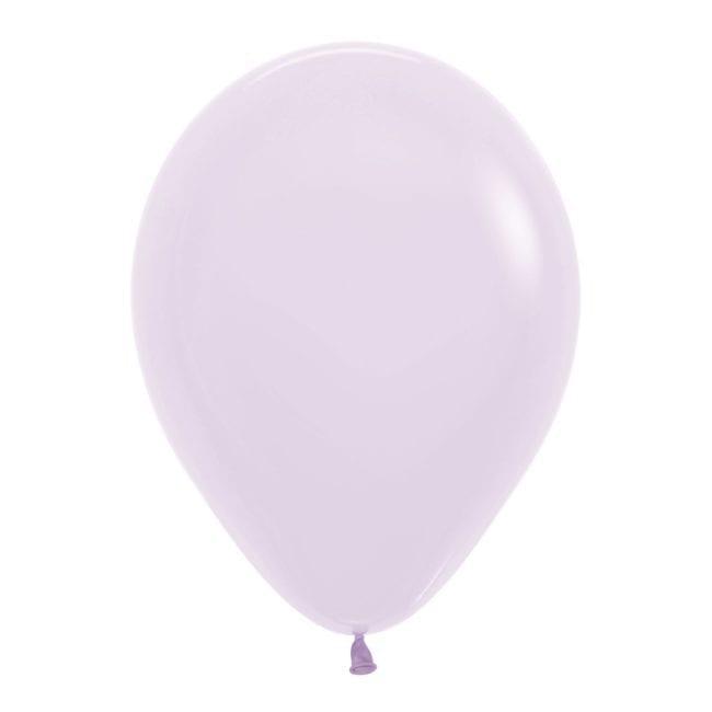 Balões Latex 12'' Pastel Matte Solid Lilac 650