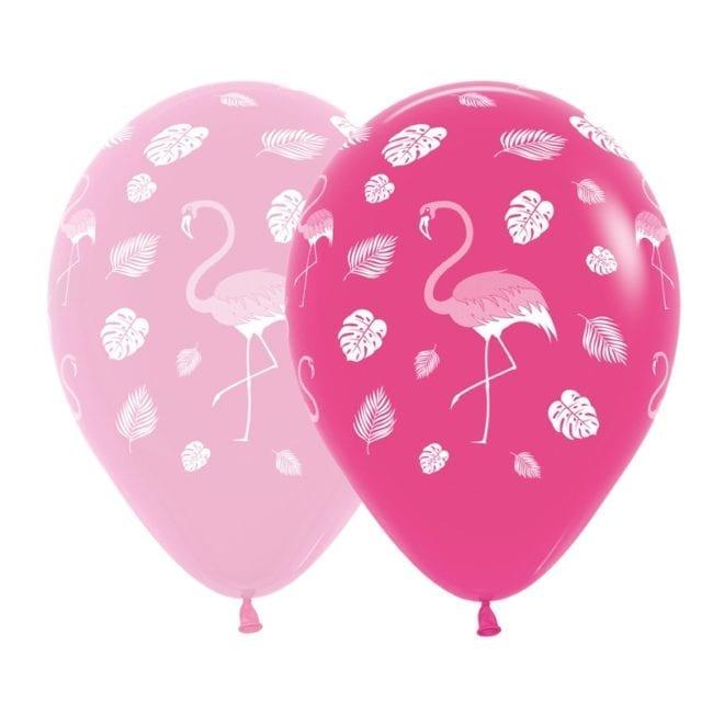 Balões Latex 12'' Sortido Flamingo