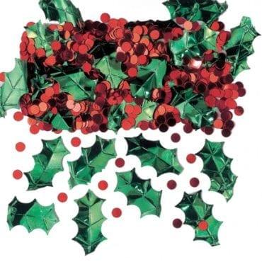 Confettis 14g Azevinhos Natal