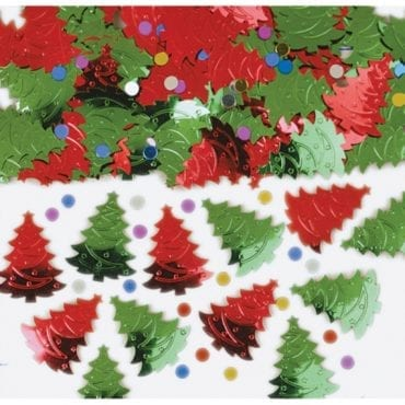 Confettis 14g Árvores de Natal