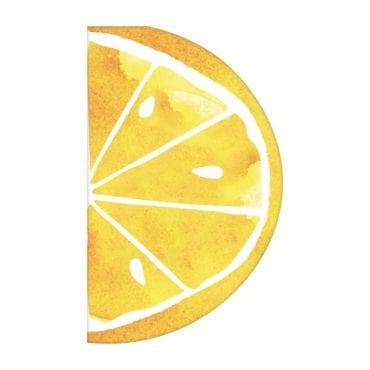 Guardanapos 33cm Recortado Limão