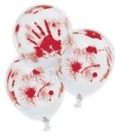 Balões Latex 11'' Mãos com Sangue