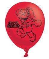 Balões Latex 11'' Super Mario