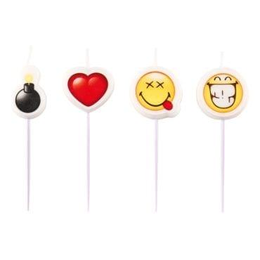 Velas de Aniversário Smiley Emoticons