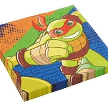 Guardanapos 33cm Tartarugas Ninja