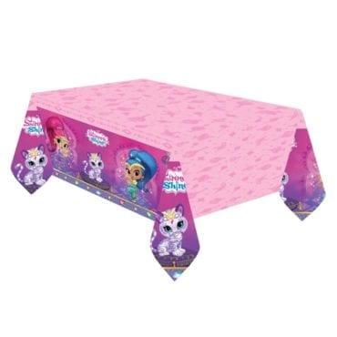 Toalha de mesa Shimmer & Shine 1,8m x 1,2m