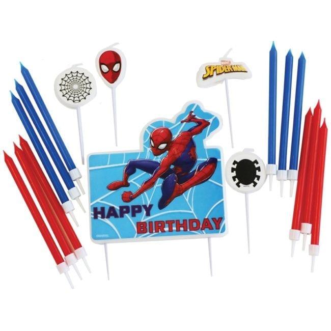 Velas de Aniversário Spiderman