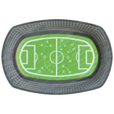Pratos 24cm Campo de Futebol