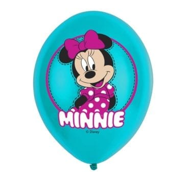 Balões Latex 11'' Minnie Mouse