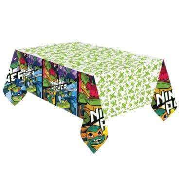 Toalha de mesa Tartarugas Ninja 1,8m x 1,2m