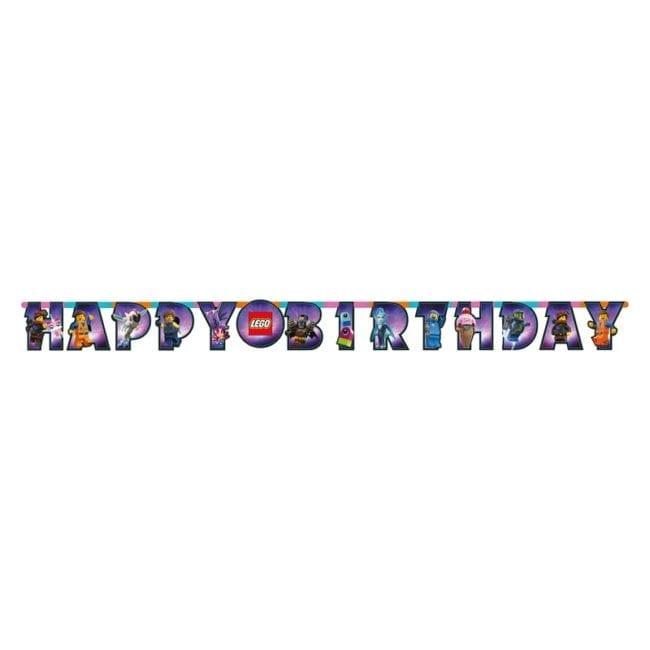 Banner Happy Birthday Lego Movie