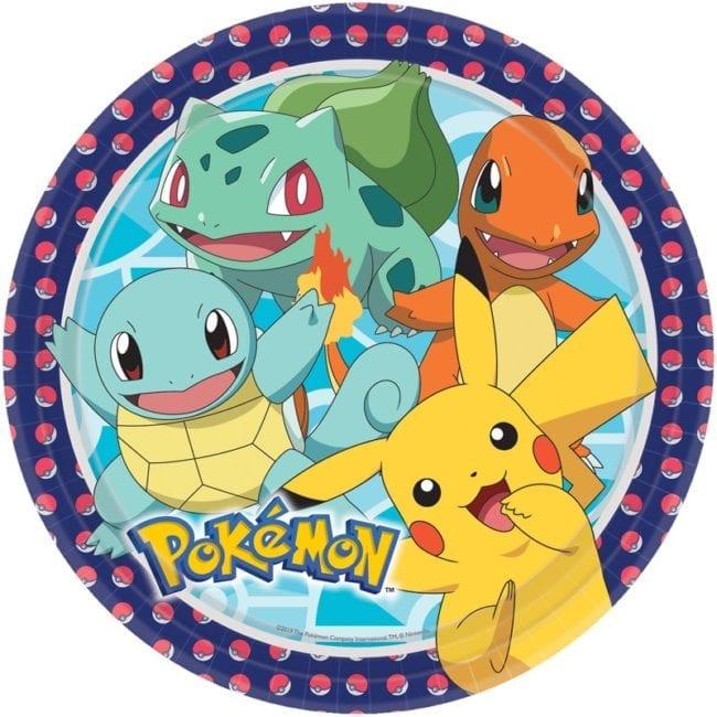 Pratos 23cm Pokémon