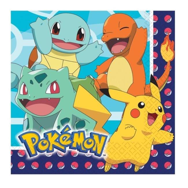 Guardanapos 33cm Pokémon