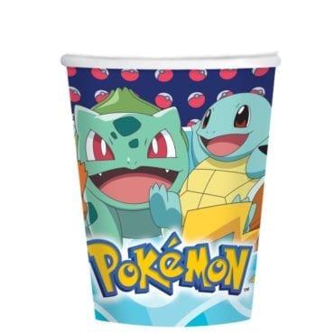 Copos 267ml Pokémon