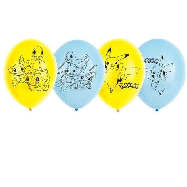 Balões Latex 11'' Pokémon