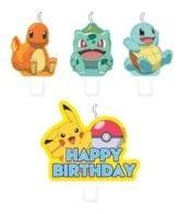 Velas de Aniversário Pokémon