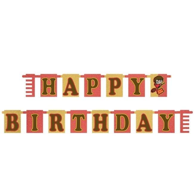 Banner Happy Birthday Harry Potter