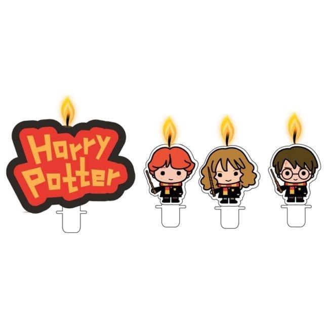 Velas de Aniversário Harry Potter