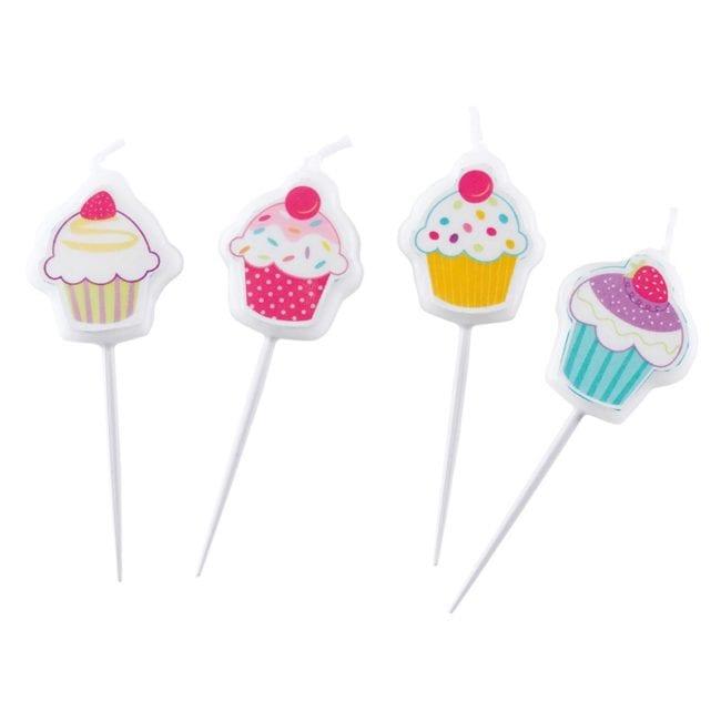 Velas de Aniversário Cupcake