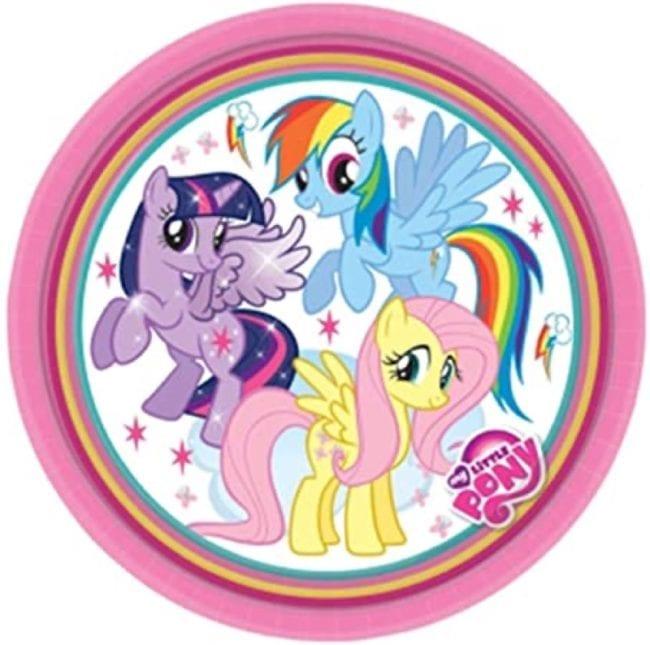 Pratos 18cm My Little Pony Rainbow