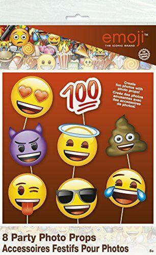 Adereços Fotografia (Photo booth) Emoji
