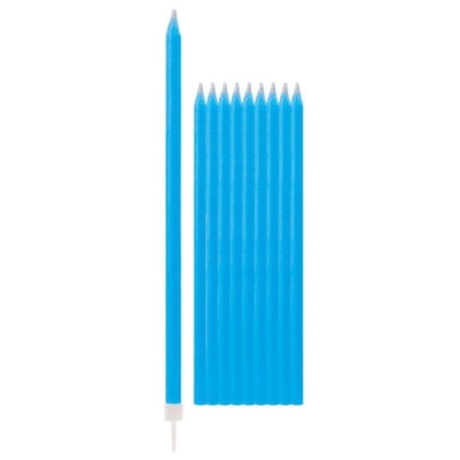 Velas de Aniversário 15,5cm Azul Caribe