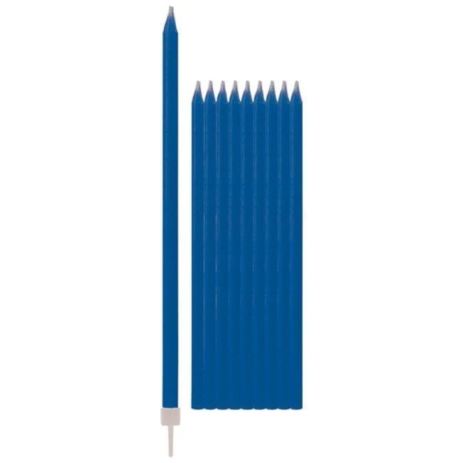 Velas de Aniversário 15,5cm Azul Escuro