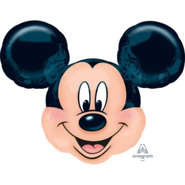 Balão Foil  SuperShape Cabeça Mickey Mouse