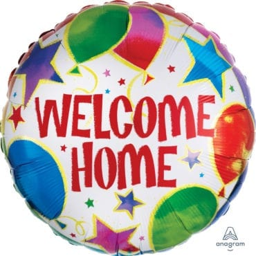 Balão Foil  Welcome Home