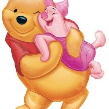Balão Foil  SuperShape Winnie The Pooh