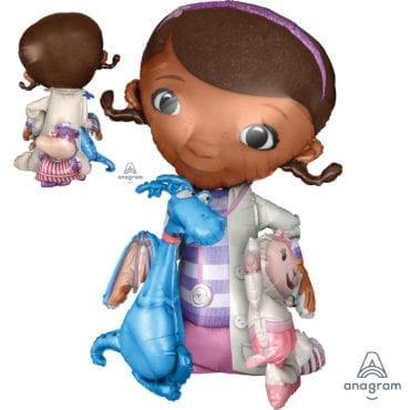 Balão Foil Airwalker Doutora Brinquedos