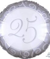 Balão Foil  25º aniversário
