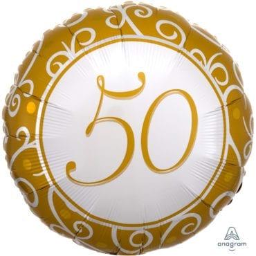 Balão Foil  50º aniversário