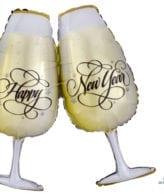 Balão Foil SuperShape Brinde Ano Novo