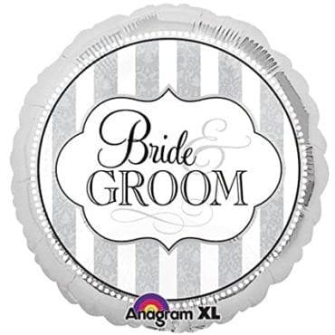 Balão Foil Standard Bride & Groom