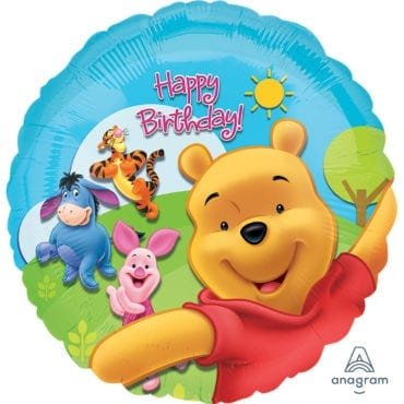 Balão Foil  Winnie The Pooh & Friends
