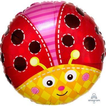 Balão Foil  Joaninha