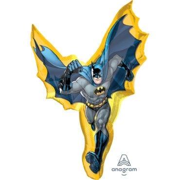 Balão Foil  SuperShape Batman Action