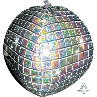 Balão Foil SuperShape Bola de Discoteca