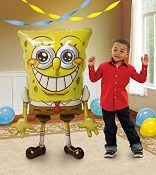 Balão Foil Airwalker Sponge Bob