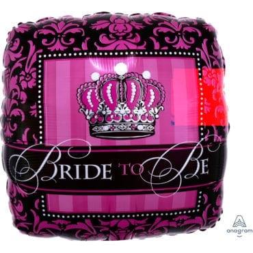 Balão Foil  Coroa Bride to Be