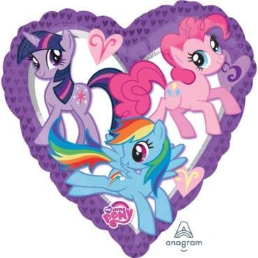 Balão Foil  Coração My Little Pony