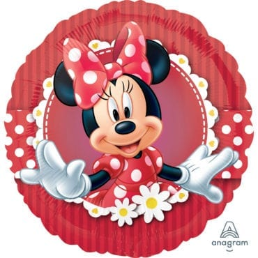 Balão Foil  Mad About Minnie Mouse