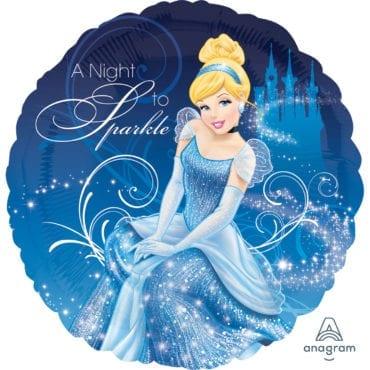 Balão Foil  Princesas Disney - Cinderela